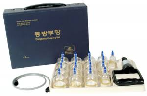 DB300 Набор массажных вакуумных банок