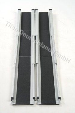 Пандус телескопический 3-х секционный (длина 150 см)