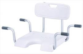 Сидение со спинкой для ванны Kamille LY-200-5016W