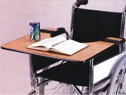 Столик для инвалидной коляски и кровати с фиксированной столешницей LY-600-860