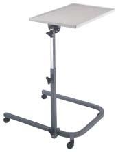 Столик для инвалидной коляски и кровати с поворотной столешницей LY-600-153