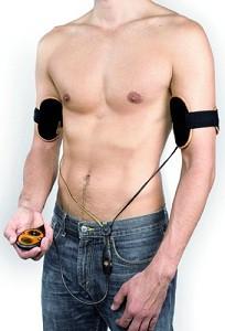 Тренажер для тренировки мышц рук Slendertone System Arms Male (модель для мужчин)