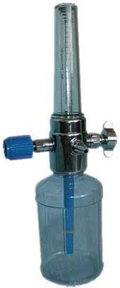 Увлажнитель кислорода для кислородной магистрали с расходомером XY-98BII