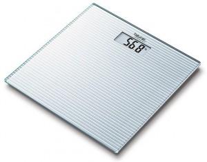 Весы дизайнерские Beurer GS28 Frosted Lines
