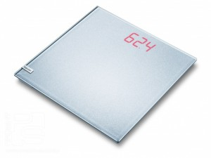 Весы дизайнерские Beurer GS40 Magic Plain Silver